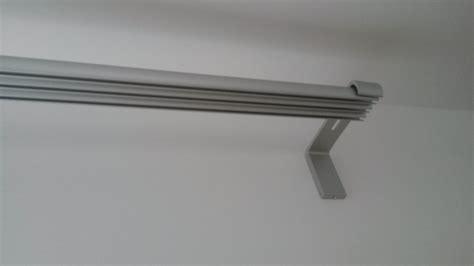 installation de nos rideaux ikea et rail kvartal notre maison rt2012 par trecobat