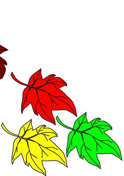 printable fall leaves clip art cartoon fall leaf cliparts co