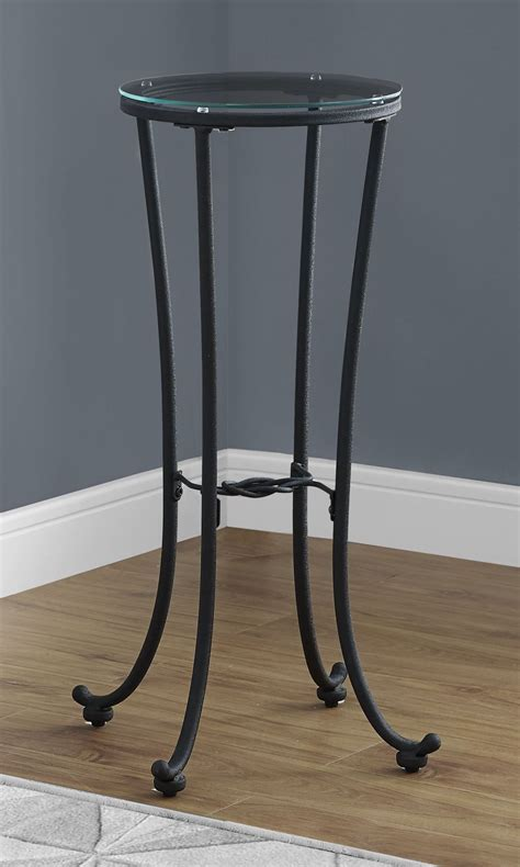 black metal accent table hammered black metal accent table from monarch coleman