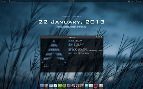gnome themes arch linux arch linux gnome by ozimanhf on deviantart