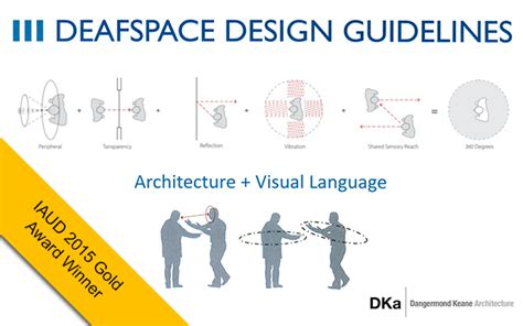 design guidelines in architecture deafspace design guidelines iaud 2015 gold winner