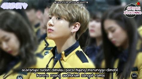 bts indo sub indo sub jungkook went to high school with bts for
