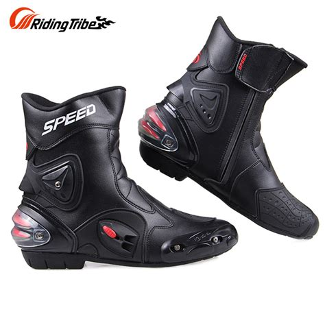 Big Promo Gordon Motocross Shoes Black free shipping ankle joint protection motorcycle boots pro biker speed boots for motorcyle racing
