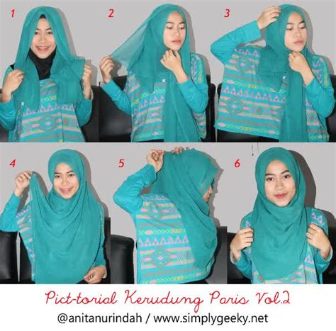 tutorial hijab pashmina simple ala zoya hijab modis terbaru images