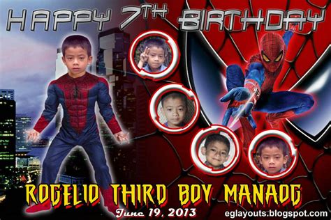 tarpaulin layout editor free eg s layout world third boy in spiderman tarpaulin layout