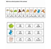 Ordinal Number Worksheet For Kids  Free Educational