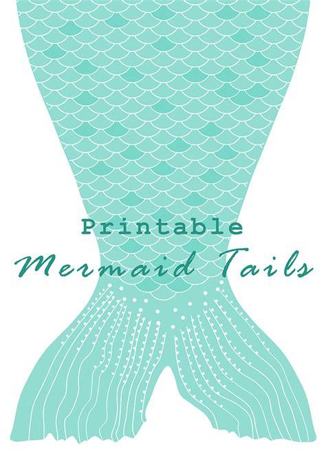 printable mermaid art diy printable paper mermaid tails anne marie broughton
