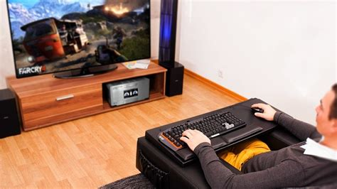 pc gaming couch now you can game from your couch pc com malaysia