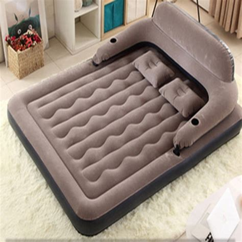 20pcs lot air mattress bed pvc air mattresses airbed with flocking surface for