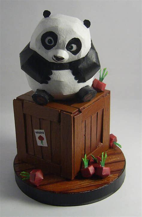 Papercraft Panda - baby po papercraft by soulassassin84 on deviantart