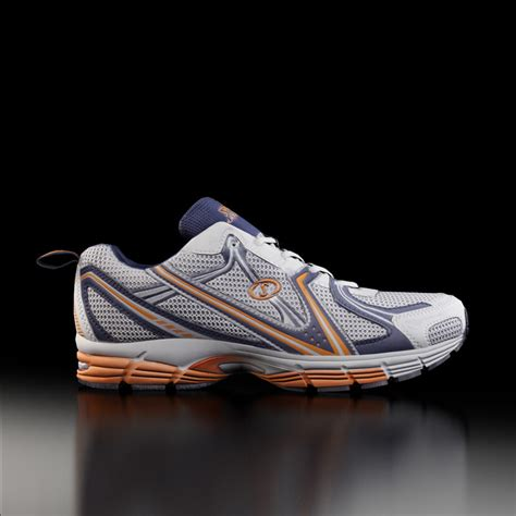3d model spalding running shoes