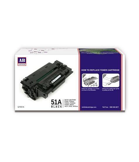 Toner Hp 51a Black 1 ab 51a black toner cartridge q7551a hp 51a black toner