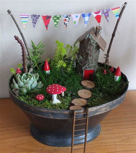Magical Fairy Garden Ideas You Your Kids Will Love Gnome Garden Ideas