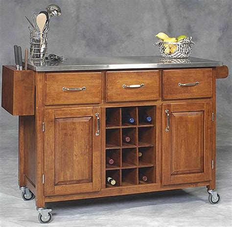Movable Kitchen Island Designs Home Style Choices Movable Kitchen Island
