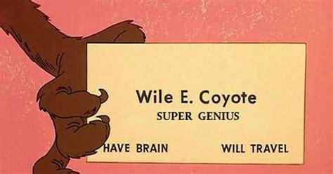 wile e coyote facts wile e coyote super genius