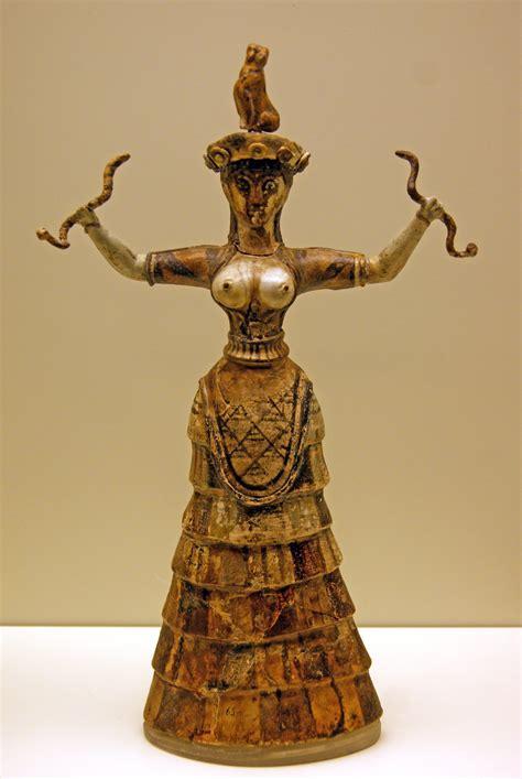 Bird Figurines by Minoan Mother Goddess Enthusiastical