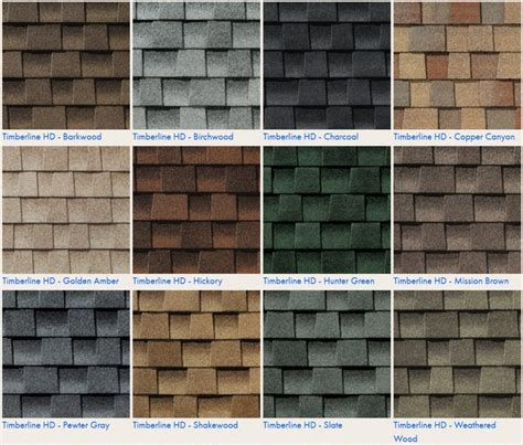timberline shingles color chart the ultimate guide to getting a new roof in 2017 2018