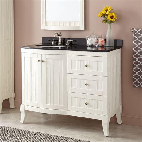 42 white bathroom vanity 42 quot palmetto creamy white vanity bathroom vanities
