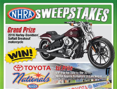 Seahawks Toyota Tundra Giveaway - for 2 to the 2016 nhra toyota nationals in las vegas and more prizes