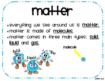 meaning of matter in science states of matter posters matter solids liquids and