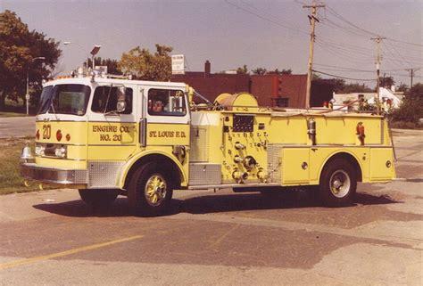 st louis mo fd engine   howe pumper st louis mo fire dept fire apparatus fire