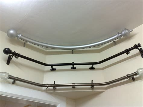 ikea gardinenstange gebogen curved bay window curtain rod uk curtain menzilperde net