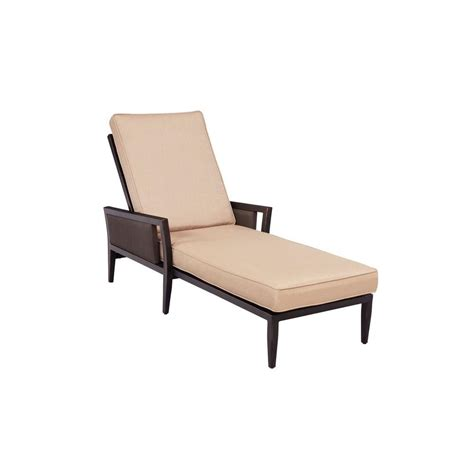 brown jordan chaise brown jordan greystone patio chaise lounge with harvest