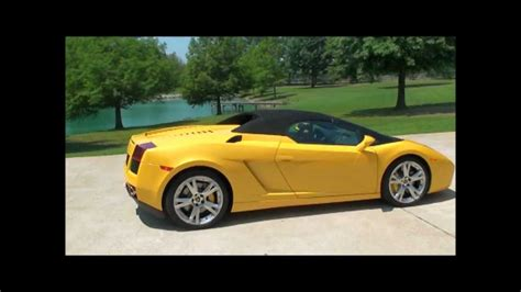 lamborghini gallardo roadster for sale 08 lamborghini gallardo spyder convertible v10 for sale see www sunsetmilan com youtube