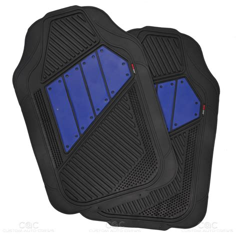 Heavy Duty Rubber Car Floor Mats by Channeled Heavy Duty Rubber Car Floor Mats Front