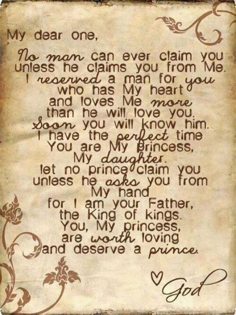 Letter From God Faith And Greatest Is A Letter From God To His Princess