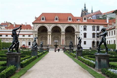 jardin wallenstein de prague lesprit renaissance mala