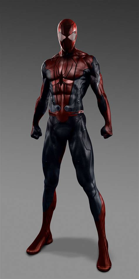 the amazing spider man 2 alternative suit designs