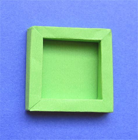 How To Make A Paper Photo Frame - how to make a shadow box a 3d frame from paper or cardboard