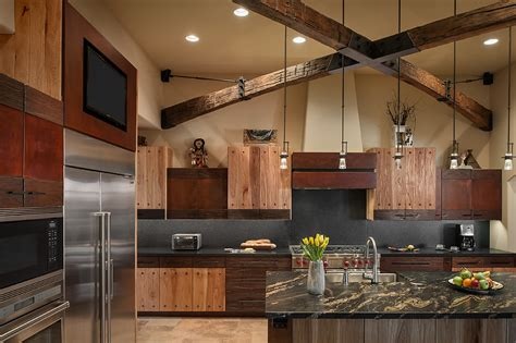 rustic home interior designs rustic luxury kitchen interiors by color