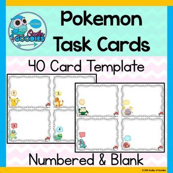 task card template ppt 20 best displays images on pin boards
