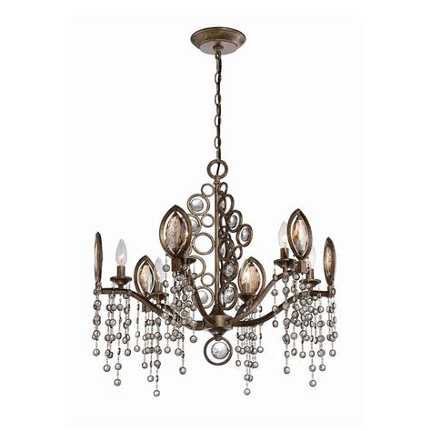 hton bay somerset 3 light bronze chandelier gex8193a 3