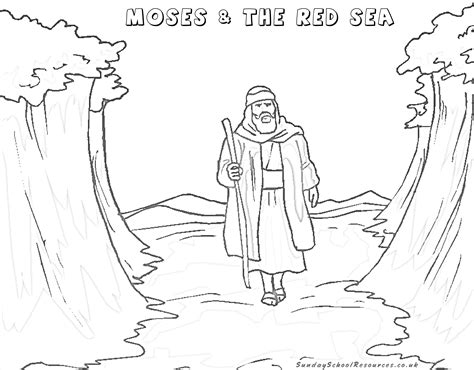 preschool bible coloring pages moses sunday school moses bible coloring pages