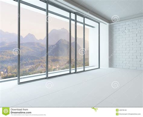 big white room empty white room interior with window stock photo image 40378149