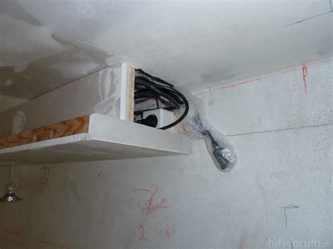 stuckleisten für led yarial indirekte beleuchtung selbst bauen wand
