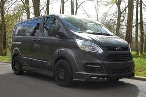 M And M Ford Racecarsdirect M Sport Transit Custom Panel And Crew