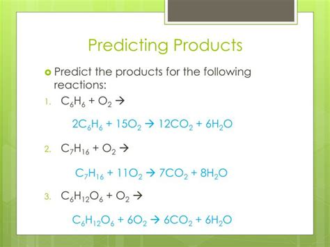 Section 3 Predicting The Products Of Chemical Reactions Answers by Ppt Chapter 11 Chemical Reactions Powerpoint