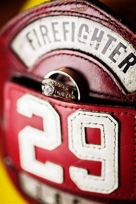 Wedding Rings For Firefighters by 15 Best Of Firefighter Wedding Bands