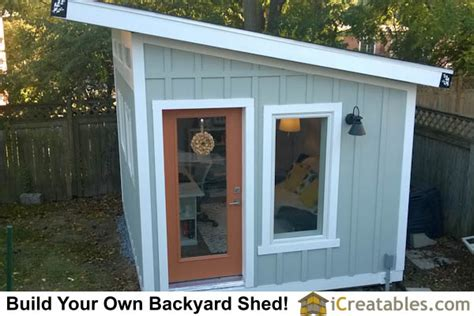 lean  shed plans extra storage space large shed plans