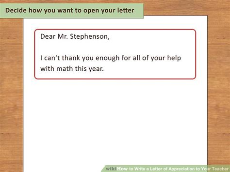 appreciation letter to step how to write a letter of appreciation to your 13