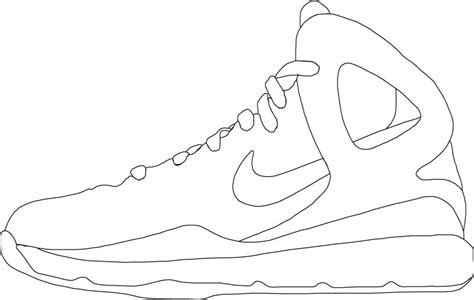 nike shoe template huarache coloring coloring pages coloring pages