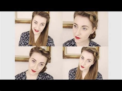 how to get authentic retro vintage haircut my top vintage hairstyles tutorials youtube