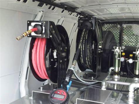 mobile oil change unit  chevrolet express  van