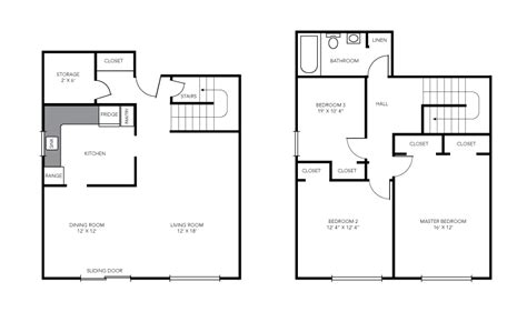 maisonette floor plans three bedroom maisonette birchwood village rental