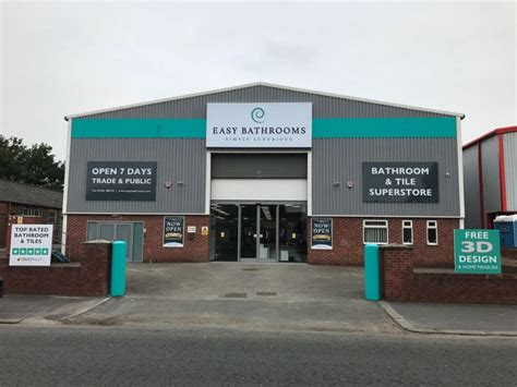bathroom shops in chester bathroom and tile supplier easy bathrooms launches first