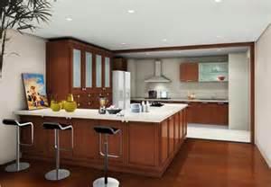 Brown Cabinets Kitchen by Modern Kitchen Brown Cabinets Kitchendecorate Net